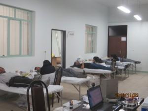 اهداء خون پرسنل شرکت سیمان آبیک
