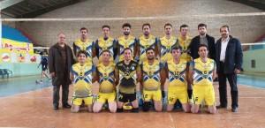 کسب مقام قهرمانی مسابقات والیبال کارگری البرز