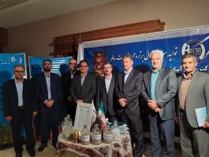 ارائه محصولات سیمان آبیک در جمع واحدهای نمونه استان البرز